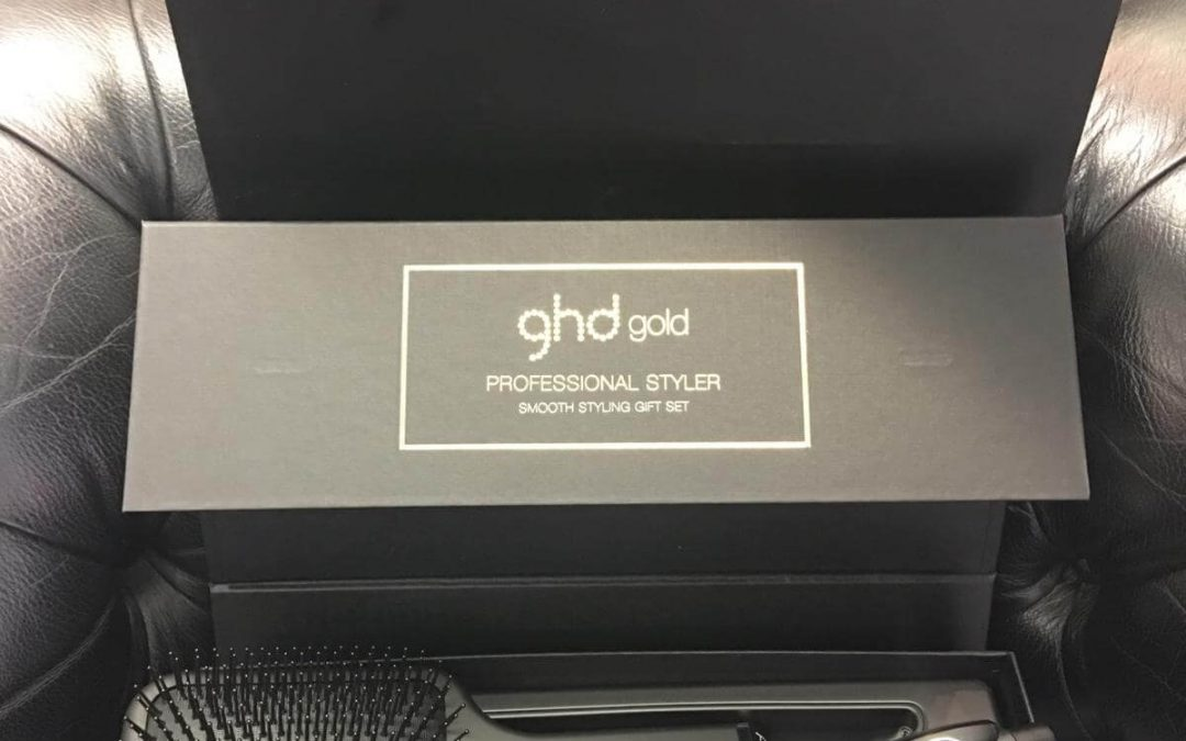 Gold GHD Gift Set